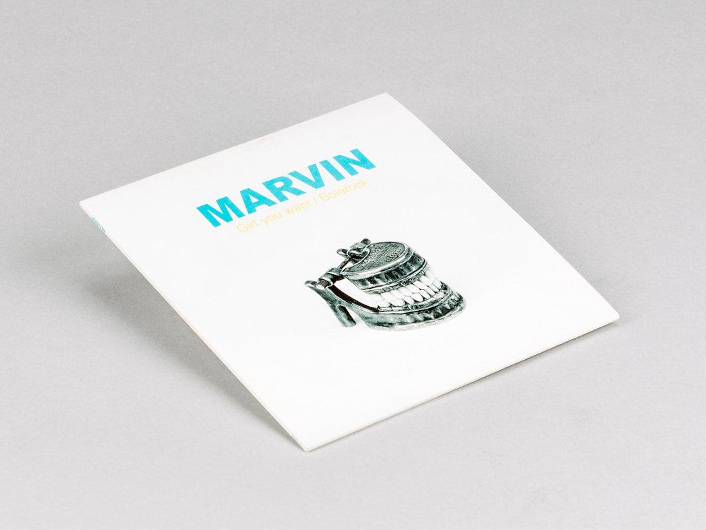 """Girl You Want / Bolerock"" Marvin -  EP Murailles Music, 2016"